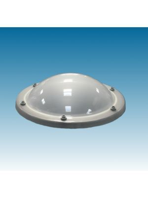 lichtkoepel rond180 vierwandig polycarbonaat (PC/PMMA/PMMA/PMMA) opaal