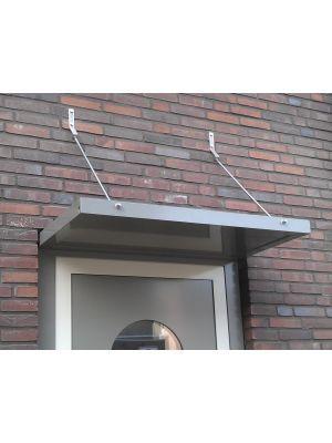 Aluminium deurluifel kader hoog