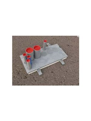 Meterkastvloerplaat Komo  Stadsverwarming geisoleerd Rc 2,5