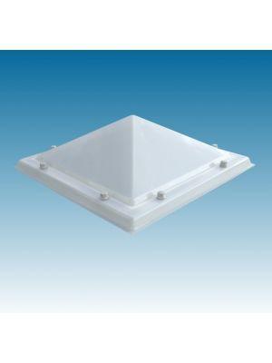 lichtkoepel 120X210 vierwandig acrylaat (PMMA/PMMA/PMMA/PMMA) piramide opaal