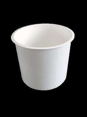 Polyester bak 400 liter - rond 95  x 60 (diam x h bodemmaat in cm.)