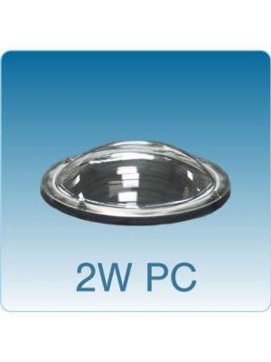 Losse ronde lichtkoepel dubbelwandig polycarbonaat (PC/PC)